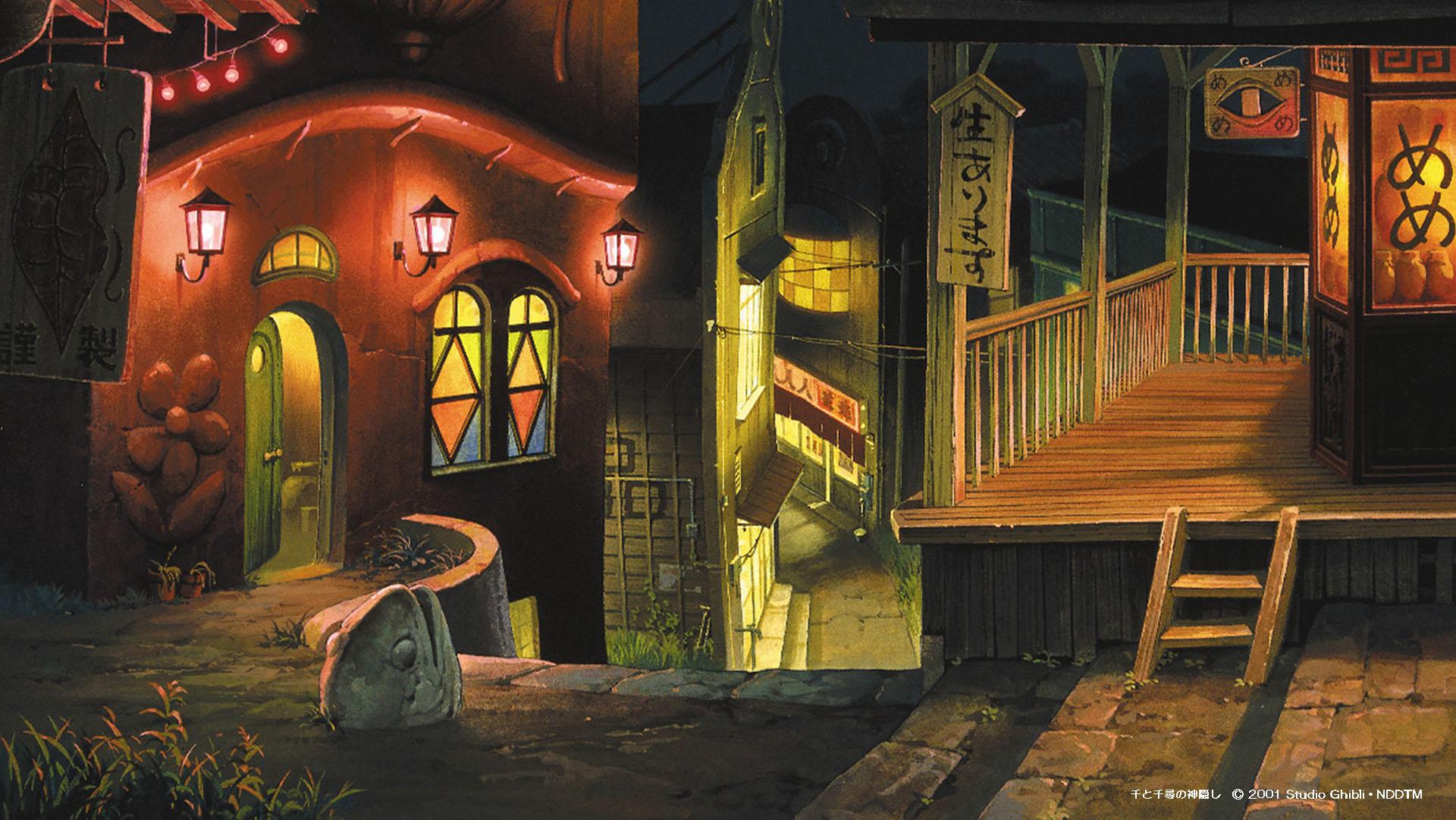 Fondos de escritorio [1]. Los Estudios Ghibli