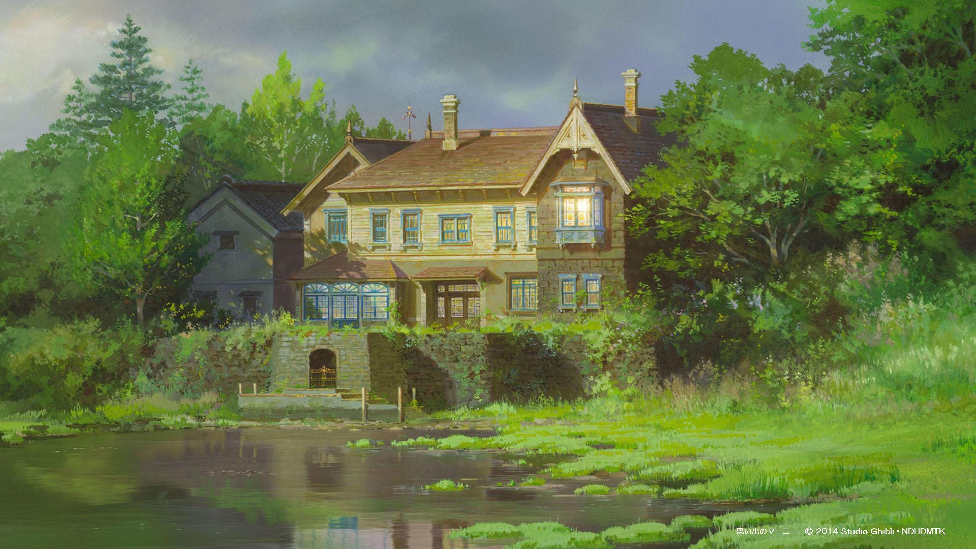 El recuerdo de Marnie (2014). Estudios Ghibli.