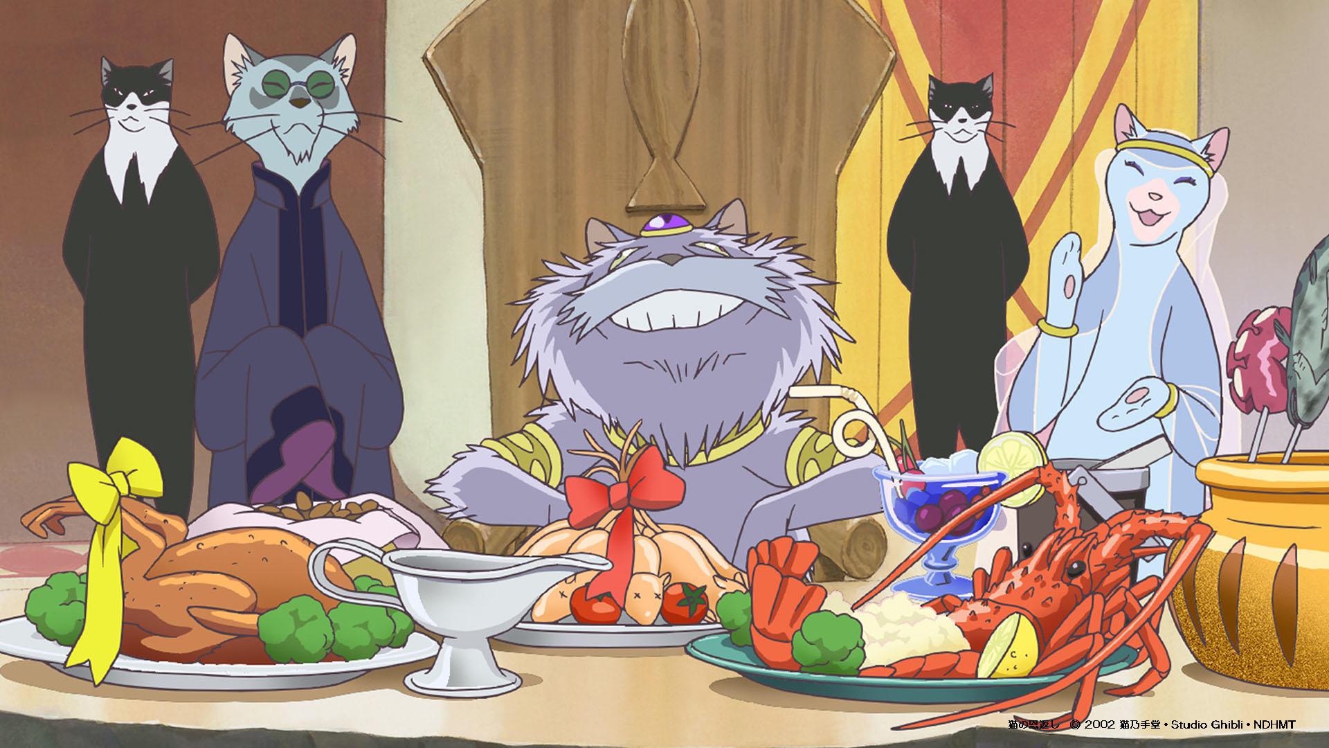 Haru en el reino de los gatos (Neko no ogaeshi, 2002). Estudios Ghibli.
